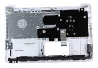 Клавиатура для ноутбука ASUS X556UV топкейс белый, кнопки белые / уценка