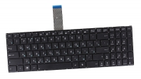 Клавиатура для ноутбука Asus X501, X502, X552EA черная без рамки OEM