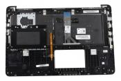 Клавиатура для ноутбука Б/У ASUS K501UB топкейс темно-серый, клавиши черные, с подсветкой