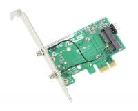 Переходник Wi-Fi на две антенны (с модуля WiFi MiniPCI-E на PCI-E1)