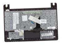 Клавиатура для ноутбука Asus X101, X101CH топкейс красный, черная клавиатура, без тачпада