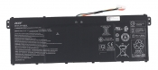 АКБ для ноутбука Acer (AP19B5L) оригинальная / 15.4V, 3550mAh / Aspire 3 A315-58 черная