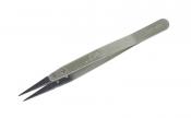 Пинцет M05 прямой (стальная ручка)