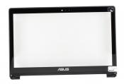 """Тачскин для ноутбука Б/У 15.6"""" ASUS TP500LA с черной рамкой / уценка"""