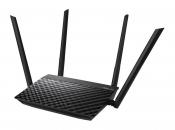 WiFi-маршрутизатор Б/У ASUS RT-AC1200 / WiFi 2.4ГГц/5ГГц 802.11a/b/g/n/ac, 4 порта 100Мб/сек