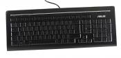 Клавиатура ASUS KB34211 проводная немецкая (USB) черная