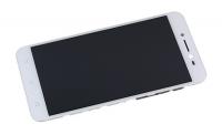 """Модуль для смартфона 5"""" ASUS ZenFone Live ZB501KL белый ORIGINAL с рамкой"""
