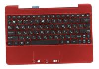 Клавиатура для док-станции ASUS Transformer Pad TF300T топкейс красный, черная клавиатура