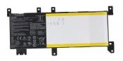 АКБ для ноутбука ASUS (C21N1638) ORIGINAL / 7.6V, 5000mAh / X442UA черная