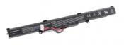 АКБ для ноутбука Asus (A41-X550E) / 14.4V, 2600mAh / X750E, R510D, X550 черная