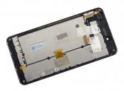 """Модуль для смартфона Б/У 5"""" ASUS PadFone Infinity A86 черный ORIGINAL с рамкой"""