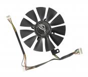 Вентилятор для видеокарты Б/У ASUS GeForce ROG Strix GTX 1070 (левый)