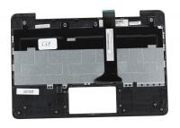 Клавиатура для док-станции ASUS Transformer Pad TF701T топкейс серый, клавиатура черная