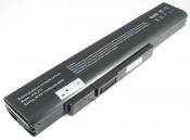 АКБ для ноутбука DNS (A32-A15) / 10.8V, 4400mAh / A41-A15, A42-A15 черная