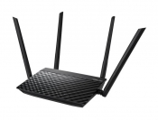 WiFi-маршрутизатор Б/У ASUS RT-AC1200RU / WiFi 2.4ГГц/5ГГц 802.11a/b/g/n/ac, 4 порта 100Мб/сек