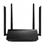WiFi-маршрутизатор Б/У ASUS RT-AC1200L / WiFi 2.4ГГц/5ГГц 802.11a/b/g/n/ac, 4 порта 100Мб/сек