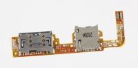 Шлейф для планшета ASUS EeePad VivoTab TF600TG (разъемы карты памяти и micro-SIM)