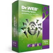 ПО Антивирус Dr.Web Security Space 1 ПК на 1 год (поддержка Windows 10) / 11 версия