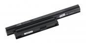 АКБ для ноутбука Sony VAIO (VGP-BPS22) TopON / 11.1V, 5200mAh / VPC-EA, VPC-EB черная