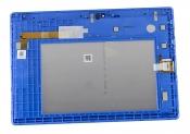 """Модуль для планшета Б/У 10.1"""" Lenovo TB-X103F черный ORIGINAL с синей рамкой"""