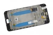 """Модуль для смартфона 5.5"""" ASUS ZenFone Live ZB553KL черный ORIGINAL с рамкой"""