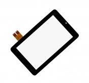 """Тачскрин Б/У 7"""" для планшета ASUS MeMO Pad ME172 черный с рамкой / 33026A087"""