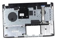 Клавиатура для ноутбука Б/У ASUS GL552JX топкейс черный, кнопки черные, без тачпада / дефект