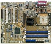 """Комплект Мат Плата """"478 сокет ASUS P4P800 SE+ процессор Pentium 4 SL7PM 1*3.0ГГЦ+512МБ ОЗУ DDR1"""