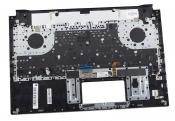 Клавиатура для ноутбука ASUS ROG Zephyrus M GM501GM топкейс черный, клавиши черные / дефект