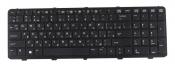 """Клавиатура для ноутбука HP 450 G1, 455 G1 черная с рамкой (длинная клавиша """"пробел"""")"""