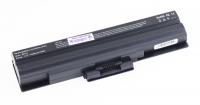 АКБ для ноутбука Sony VAIO (VGP-BPS13) / 11.1V, 4400mAh / VGN-FW, CS, VPC-CW черная