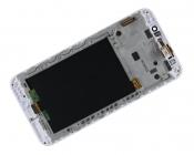 "Модуль для смартфона Б/У 5.5"" ASUS ZenFone Max ZC550KL(8939) белый с рамкой"