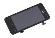 """Модуль для смартфона 4"""" ASUS ZenFone 4 A400CG черный ORIGINAL с рамкой"""