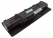 АКБ для ноутбука Asus (A31-N56) / 10.8V, 5200mAh / N46, N56, N76 черная