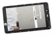 """Модуль для планшета Б/У 7"""" ASUS Fonepad ME371MG черный ORIGINAL с золотистой рамкой"""