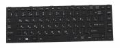 Клавиатура для ноутбука Toshiba Satellite C800 черная с рамкой