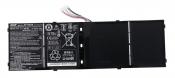 АКБ для ноутбука Acer (AP13B3K) оригинальная / 15V, 3560mAh / Aspire V5-572G, M5-583P черная