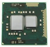 Процессор для ноутбука Б/У rPGA988A Intel Core Mobile i3-370M (2.4GHz, 3Mb) / SLBUK
