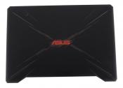 Корпус Б/У ASUS FX505DV часть A (Крышка) черно-красный
