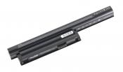 АКБ для ноутбука Sony VAIO (VGP-BPS26) TopON / 10.8V, 5200mAh / VPC-CA, VPC-CB черная