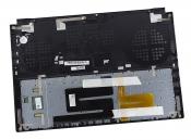 Клавиатура для ноутбука ASUS ROG Zephyrus GX501VIK топкейс черный, клавиши черные / уценка