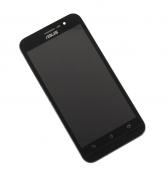 """Модуль для смартфона Б/У 5"""" ASUS ZenFone Go ZB500KG черный ORIGINAL с рамкой / хорошее состояние"""