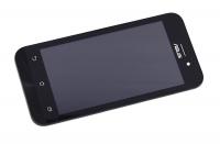 """Модуль для смартфона Б/У 4.5"""" ASUS ZB452KG черный ORIGINAL с рамкой /хор состояние / коннектор HRS"""