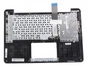 Клавиатура для ноутбука ASUS X302UA топкейс светло-серый, клавиши черные