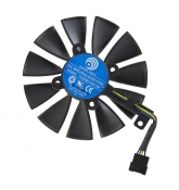 Вентилятор для видеокарты Б/У ASUS GeForce ROG Strix GTX 1070 (средний)