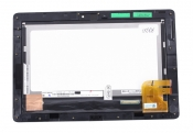 """Модуль для планшета Б/У 10.1"""" ASUS Transformer Pad TF300TL черный ORIGINAL с рамкой"""