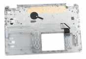 Клавиатура для ноутбука Dell Inspiron 15 5000 топкейс серебристый, клавиши черные