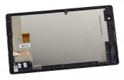 """Модуль для планшета Б/У 7"""" ASUS Z170CG черный ORIGINAL с серебристой рамкой / хорошее состояние"""