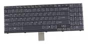 Клавиатура для ноутбука Clevo M57, M570, M590 черная / REV: 00