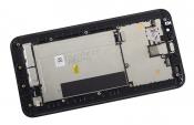 """Модуль для смартфона Б/У 5.5"""" ASUS ZenFone 2 ZE550ML черный ORIGINAL с рамкой / хорошее состояние"""
